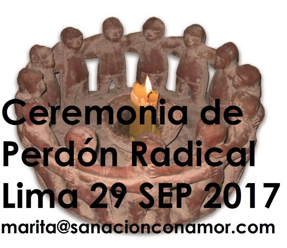 resuelve tus conflictos perdonando - ceremonia de perdón con andrea sydow en lima 29 de septiembre