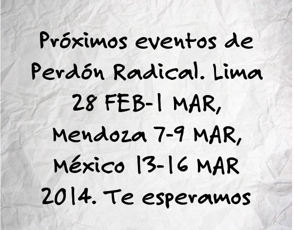 Te esperamos en Lima, Mendoza y México
