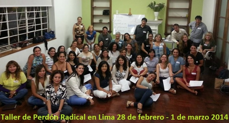 Perdón Radical en Lima - GRACiAS