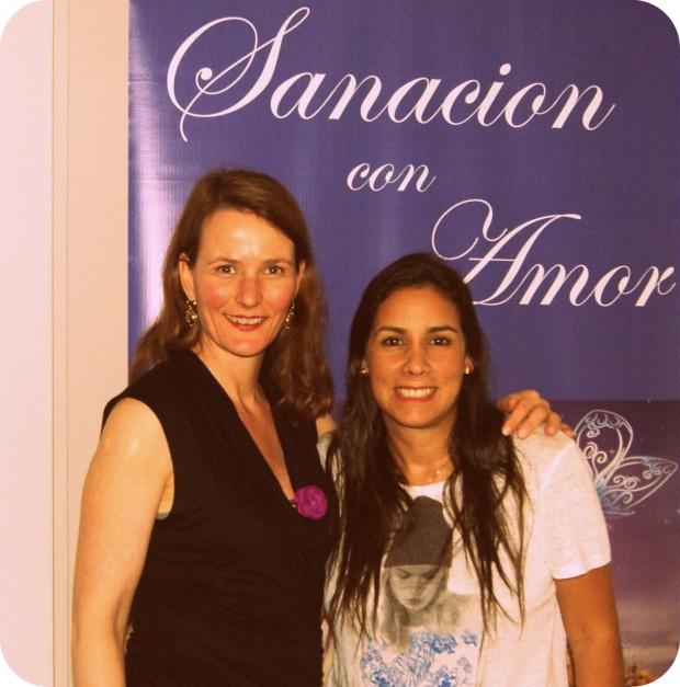 Andrea Sydow y Marita Escalante en Lima