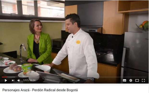 El Perdón Radical con Andrea Sydow en Personajes Arazá. Sanar relaciones y perdonar