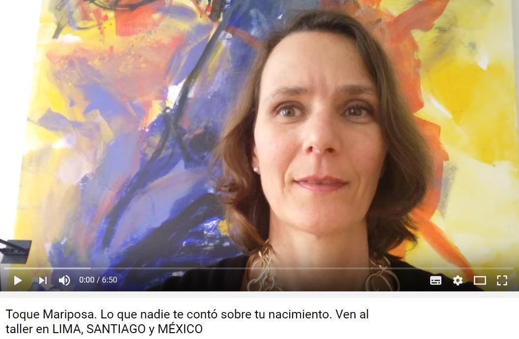 Toque Mariposa de Eva Reich. Con Andrea Sydow en Lima, Santiago y Chile 2017