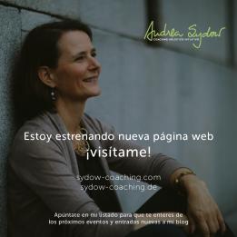 Visita mi nueva página www.sydow-coaching.com