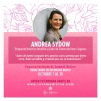 Andrea Sydow Coaching Holístico Intuitivo Conversaciones Seguras