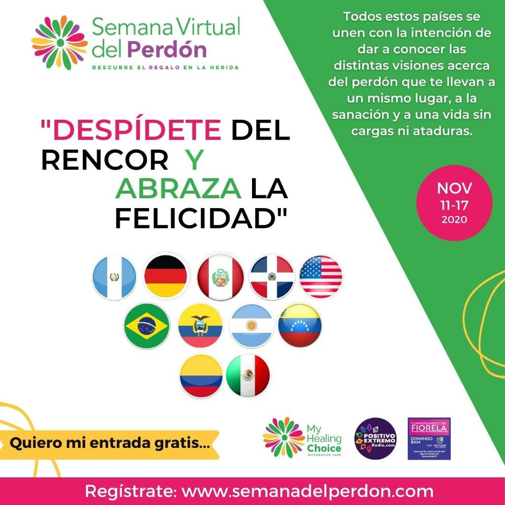 Andrea Sydow te invita a la Semana Virtual del Perdón